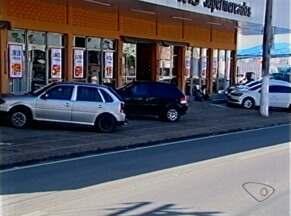 Supermercado é assaltado em Linhares, Norte do ES - Homens levaram mais de R$ 4 mil.