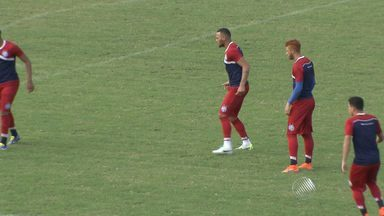 Bahia se prepara para enfrentar o Luverdense neste sábado (27) - Partida acontece na Arena Fonte Nova e já foram vendidos seis mil ingressos.