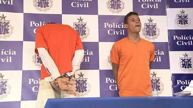 Polícia apresenta suspeitos de tráfico de drogas e assasinatos - Veja mais informações no Giro de Notícias.