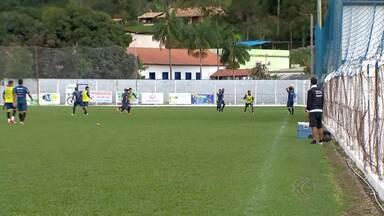 Tupi-MG volta a campo pela Série C contra a Portuguesa neste sábado - Depois de três semanas, Galo Carijó visita Lusa para tentar voltar à liderança do Grupo B do Campeonato Brasileiro. Equipe treinou em Lima Duarte nesta semana e já está concentrada em São Paulo.