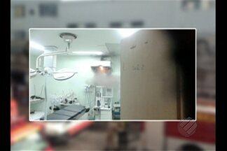 Duas alas do PSM da 14 terão de ser interditadas - Hoje os bombeiros foram novamente até o hospital.