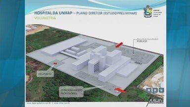 Unifap lança projeto do Hospital Universitário - A Unifap lançou o projeto preliminar do Hospital Universitário. As obras estão previstas pra começar em 2016.