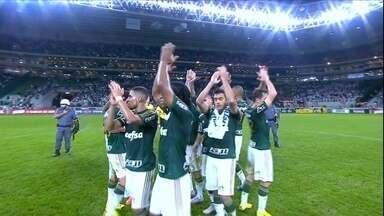 Palmeiras goleia o São Paulo por 4 a 0 em casa - Leandro Pereira, Victor Ramos, Rafael Marques e Cristaldo marcaram para o Verdão