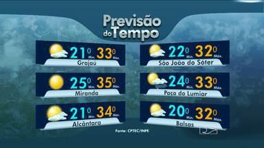 Veja a previsão do tempo para esta segunda-feira (29) - Veja a previsão do tempo para esta segunda-feira (29).