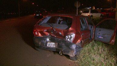 Fim de semana com muitos acidentes de trânsito em Foz do Iguaçu - Acidentes na cidade e nas estradas.