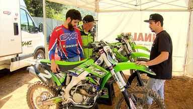Irmãos Lima competem em categorias distintas da Copa Minas Gerais de Motocross - Marcelo e Dudu Lima se apaixonaram pelo esporte desde a infância