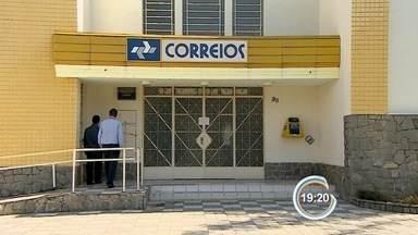 Criminosos estouram cofre de agência dos Correios em Pinda, SP - Furto foi descoberto por gerência na manhã desta segunda-feira (29).