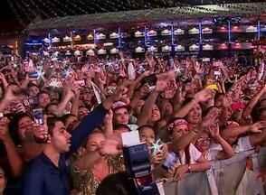 Aviões do Forró leva 100 mil a festejo na véspera de São Pedro em Caruaru - Números da noite foram divulgados pela assessoria de imprensa da Prefeitura.Forro do Muído e cantor Flávio Leandro também subiram ao palco do Pátio.