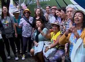 Clima de saudade marcou as ruas de Caruaru nesta segunda-feira (29) - Turistas se preparavam para voltar para casa.