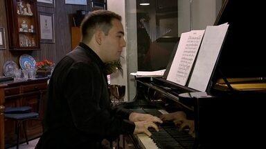 Pianista de Brasília se dedica à preservação do trabalho do maestro Claudio Santoro - Pianista de Brasília se dedica à preservação do trabalho do maestro Claudio Santoro.