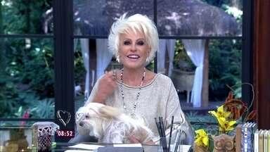 Ana Maria explica novo quadro do Mais Você 'Funcionário do Mês' - Recepcionista Priscila Lourenço é a primeira homenageada