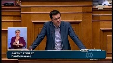 Autoridades europeias avaliam propostas para a economia da Grécia - Depois de romper com os credores, o governo da Grécia aceitou as duras condições que recusava e conseguiu também um endosso do próprio parlamento em casa.