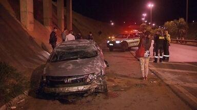Agente do Detran sofre acidente no Balão do Colorado, em Sobradinho - Carlos Cavalcanti Júnior, de 25 anos, estava de folga quando perdeu o controle do carro num trecho da BR-020, no sentido Planaltina.
