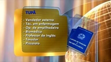 Confira as vagas de emprego abertas em Tupã e Ourinhos nesta terça-feira - Os postos de atendimento ao trabalhador de Ourinhos e Tupã oferecem vagas de emprego nesta terça-feira.