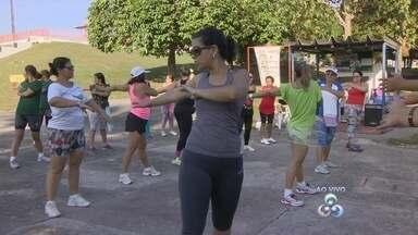 Vila Olímpica oferece treino funcional gratuito, em Manaus - Modalidade tem sido escolhida por pessoas que estão em busca de melhor condicionamento físico.