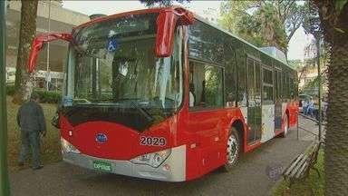 Campinas terá dez ônibus elétricos nas linhas de transporte municipal - Um teste já foi feito no ano passado e deu certo. Agora os ônibus fazem parte da frota. Os veículos vão atender a região do Campo Grande.