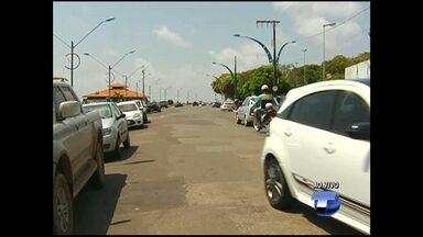 SMT var implantar sistema de estacionamento de carros em 45 graus na avenida Tapajós - Pelo menos 80 para carros serão abertas. Motocicletas terão espaço reservado, prevista 100 novas vagas para elas.