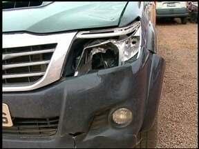 Motorista que matou mulher atropelada se apresenta à polícia - Ela atravessava a faixa de segurança quando foi atingida por caminhonete, que foi apreendida.