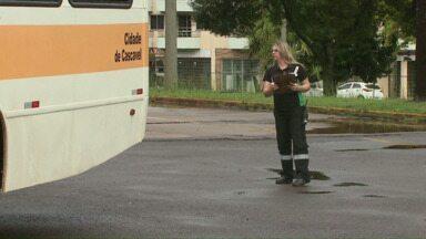 Cettrans vistoria ônibus de transporte escolar - Ao todo. 78 veículos devem ser vistoriados