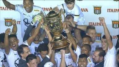 Esporte Espetacular analisa queda de rendimento do Santos após título estadual - Jobson faz denúncia em entrevista.