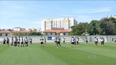 Botafogo faz treino fechado e segue sem treinador - Jair Ventura vai comandar a equipe contra o Náutico.