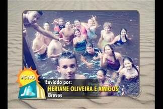Veja fotos de veranistas nos balneários do estado - Telespectadores compartilham fotos do verão amazônico.