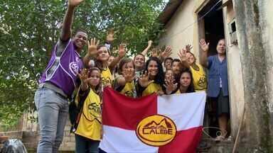 Jovens pretendem realizar 300 ações solidárias na Grande Vitória, ES - Eles revitalizaram uma escola do bairro Campo Belo, em Cariacica.