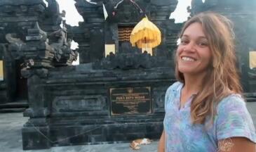Confira mais um episódio da saga de Isabela Sousa na Indonésia - Veja as imagens