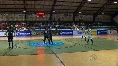Após atraso, Barra dos Coqueiros vence Boquim na estreia da Copa TV Sergipe de Futsal - Após atraso, Barra dos Coqueiros vence Boquim na estreia da Copa TV Sergipe de Futsal