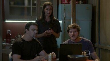 Nat se incomoda ao ver Duca com Bianca - Lobão repreende Luiz por não ter instalado microfones na casa de Gael