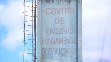 GDF conclui projetos para construção de nova escola e posto de saúde na Fercal - Os locais antigos foram fechados por causa da poluição.
