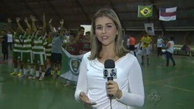 Copa Brasil de Futsal dos Surdos é realizada em Manaus - Evento é realizado na Vila Olímpica de Manaus; cinco estados participam.