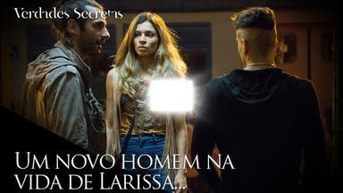 Larissa provoca Sam com outro homem - Os modelos se envolvem em confusão em local sinistro