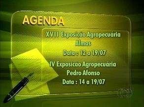 Confira o calendário das exposições agropecuárias no Tocantins - Confira o calendário das exposições agropecuárias no Tocantins