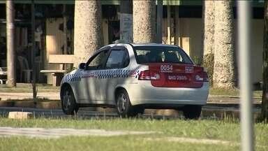 62 táxis da capital vão sair de circulação por irregularidades - 62 táxis da capital vão sair de circulação por irregularidades