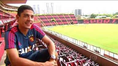 Meu primeiro Brasileirão: Neto Moura, de 18 anos, é destaque do Sport - Surpresa no Campeonato Brasileiro, Leão tenta voltar ao G-4 diante do São Paulo.