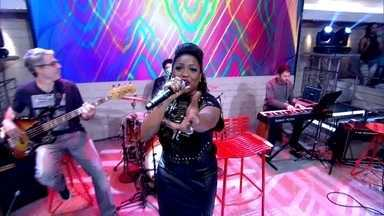 Ludmillah Anjos abre o Encontro cantando sucesso - Cantora que foi revelada no The Voice Brasil coloca a plateia para dançar