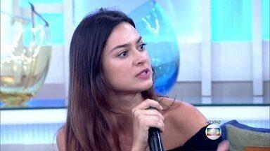 Thaila Ayala conta que sempre teve gastrite nervosa - 'Tento meditar e ficar 10 minutos tentando não pensar em nada', conta a atriz
