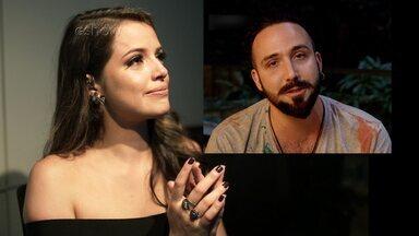 Agatha Moreira recebe carinho do namorado - Atriz se derrete com as declarações de amor