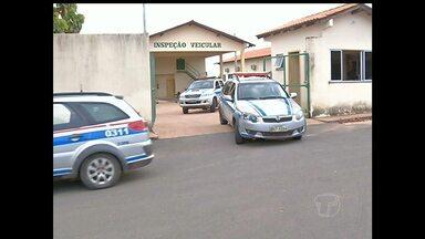 11 presos da Delegacia de Alenquer são transferidos para Santarém - Presos foram encaminhados para Penitenciária Agrícola Silvio Hall de Moura.