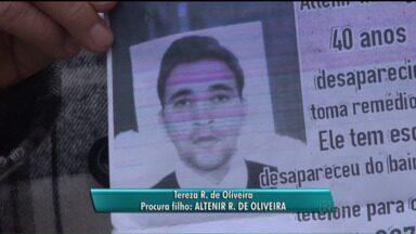 Veja depoimentos de pessoas que procuram por desaparecidos no estado - Depoimentos foram feitos para o quadro Redação Móvel do Paraná TV.