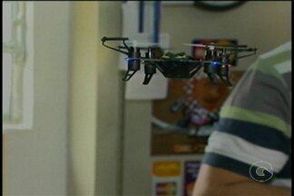 Uso de Drone tem aumentado em Petrolina - Um comerciante de Petrolina percebeu que o Drone está na moda e resolveu investir no negócio.