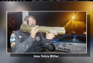 Lançador de foguetes de fabricação americana e usado em guerras é apreendido em Araruama - Apreensão foi na comunidade Beira Rio.