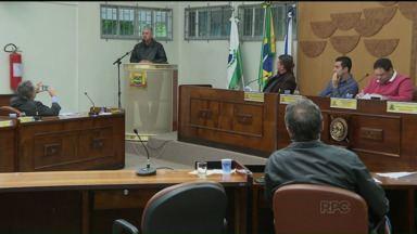 Vereadores de Ponta Grossa votam aumento de salários - Vereadores de Ponta Grossa votam aumento de salários.