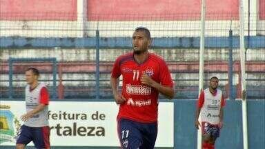 Ricardo Jesus é apresentado no Pici - Atacante chega com promessa de gols pelo Fortaleza.