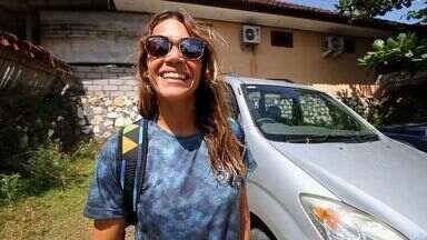 Isabela Sousa se aventura por Bali - Bodyboarder cearense conta como foi período de treinos na Indonésia.