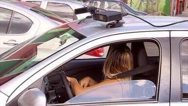 Suposto radar acoplado a carro causa polêmica em Belo Horizonte - Equipamento que chama a atenção nas ruas ajuda a acompanhar o fluxo de veículos na capital.