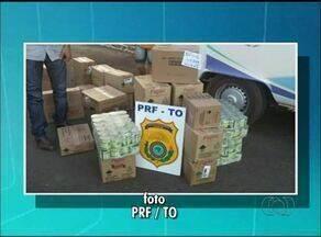 PRF apreende caminhão que carregava comida e veneno juntos em Palmeiras - PRF apreende caminhão que carregava comida e veneno juntos em Palmeiras