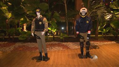 Exposição homenageia o Dia do policial; veja essa e outras notícias - A exposição vai até sábado e está no Salvador Shopping.
