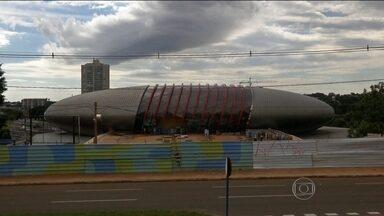 Suspeita de fraude interrompe construção de aquário em Mato Grosso do Sul - A suspeita de fraude interrompeu a construção de um dos maiores aquários de água doce do mundo.